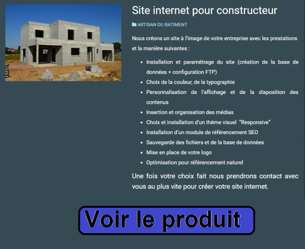 validation pré-inscription constructeur