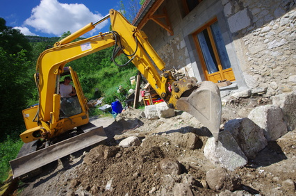 travaux de terrassement